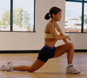 hip flexors when sitting