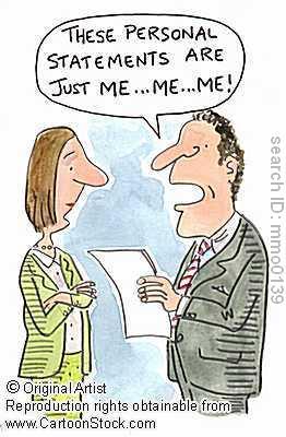 Znalezione obrazy dla zapytania personal statement