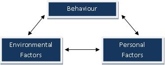 Social Cognitive Theory - Triadic Reciprocal Model