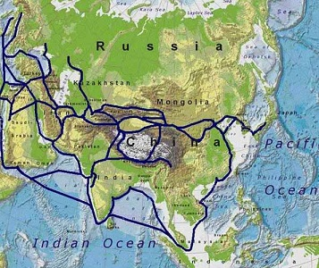 Route of Silk Road
