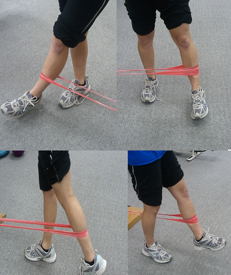 Theraband Exercises Hip Flexors Test, Sore Hip And Swollen