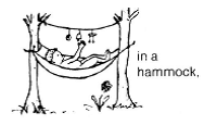 In a hammock.png