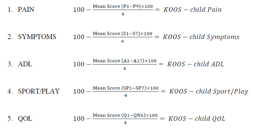 KOOS Child calc.png