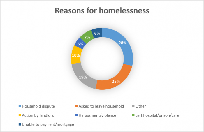 the major reasons and causes of homelessness in america 10 causes of homelessness 1 addiction probably the most common stereotype of chronically homeless people is that they are drug and alcohol addicts-with good reason 68% of us ciites.