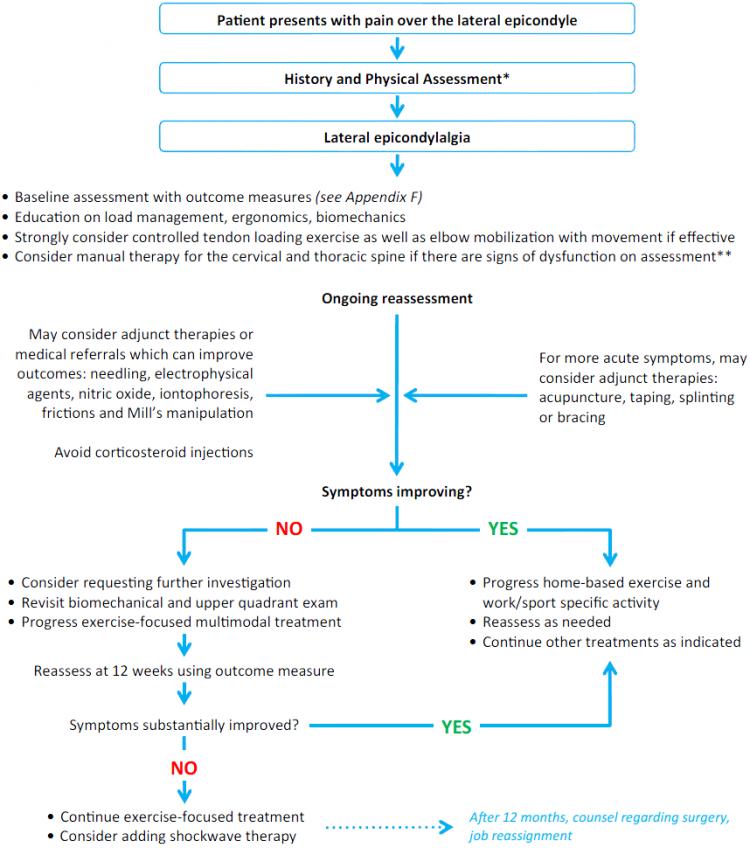 Lateral Epicondyle Tendinopathy Toolkit Treatment