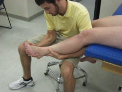 Dorsiflexion-Eversion Test