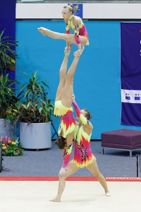 2014 Acrobatic Gymnastics World Championships - Women's group - Finals - Great Britain 03.jpg