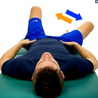 ... abduction hip flexion march side lying clam shell hip abduction