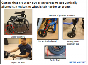 Wheelchair caster check.png
