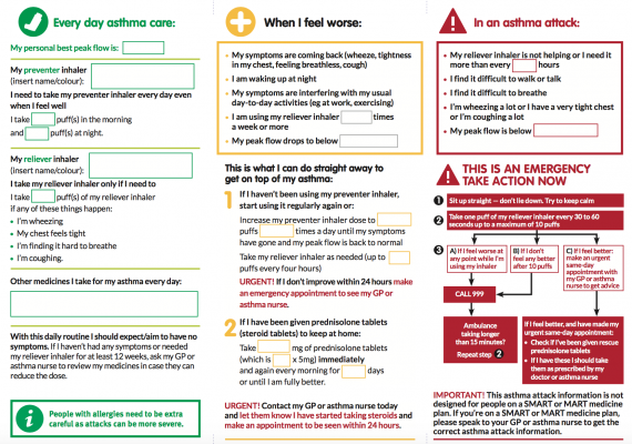 Asthma Action Plan For Over 12 Years Part 1. ActionPlanOver2.png