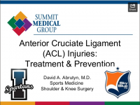 ACL treatment and prevention presentation slideshow title.png