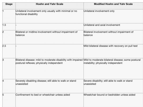 Parkinsons Disease Progression >> Parkinson S Disease Clinical Presentation Physiopedia