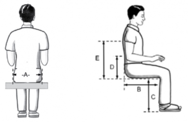 Wheelchair Assessment Body Measurements Physiopedia
